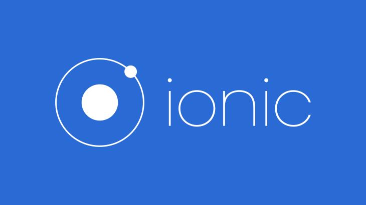 [Ionic3]開発環境構築方法