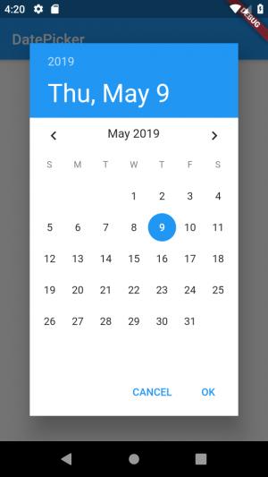 Flutter] DatePicker を日本語化する方法 │ Web備忘録