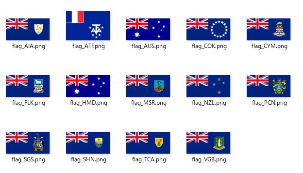 scikit-learnで国旗画像をクラスタリングして似ているものを探す