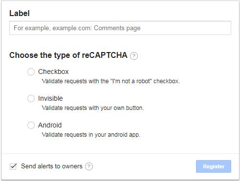 Invisible reCAPTCHA を導入する方法 │ Web備忘録